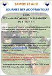 MODIFICATION DATE Journée des adoptants LSF/Samedi 26 Avril