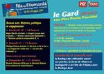 Le Gard à la fête de l'Huma 2014