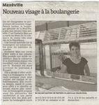 Une nouvelle boulangère au centre-ville de Maxéville
