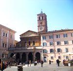 Rome Trastevere Navone San Clemente Mithra ossobucco