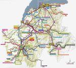 Transports CG74 - carte des lignes et tarifs LIHSA