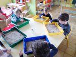 Les paléontologues de la classe des petits