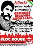 Manifestation nationale pour Georges Abdallah !