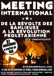 International meeting : From the revolt of the banlieues to the proletarian revolution! (english, italian, german, sinhalese, arabic)