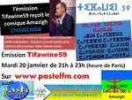 Émission Tifawine59, mardi 20 janvier, reçoit le comique Amazigh Lahcen Chawchaw