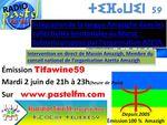 Emission Tifawine59, mardi 2 juin: Intégration de la langue Amazighe dans les collectivités territoriales au Maroc