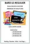 Vide grenier à Bard-le-Régulier dimanche 20 juillet 2014