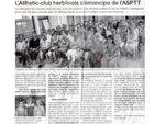 Naissance de l'Athlétic Club Herblinois