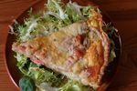 Quiche saumon-épinards à l'aneth