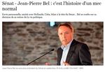Jean-Pierre Bel: une décisison exemplaire !