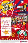 Samedi 19 septembre Fête de quartier : Elbeuf en fête