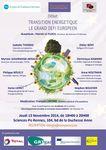 16/10/2014: Débat sur la transition énergétique à Rennes le 13 novembre 2014