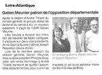 Gatien Meunier, patron de l'opposition départementale