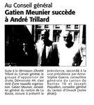 Gatien Meunier succède à André Trillard