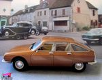 FASCICULE N°24 CITROEN GS 1971 MARRON METALLISE IXO 1/43