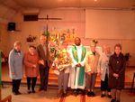 Les soixante ans de présence de Christiane Mannsberger comme organiste de la Chapelle Bosment honoré par le Conseil de Fabrique