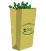 Distribution des sacs pour déchets verts