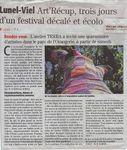 Art Récup', trois jours d'un festival décalé et écolo
