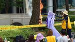 Femmes de réconfort : Choi Heon-yeol a tenté de s'immoler par le feu