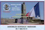 Samedi 7 mai 2016 - Assemblée générale ordinaire de l'association Aux Marins