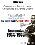COMMEMORATION OF SOUTH AFRICAN HEROS OF WWI