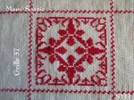 SAL : Plaid Broderie Rouge... Grille 36/F6