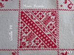 SAL : Plaid Broderie Rouge... Grille 19/I 5