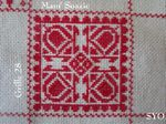 SAL : Plaid Broderie Rouge... Grille  28 / D12