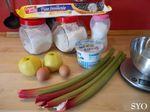 Tarte Alsacienne Rhubarbe et Pomme: Spéciale Fête des Mères