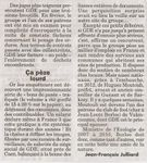 """""""Les pratiques contre nature d'un roi de la dépollution"""" : Article de Jean François Julliard journaliste du Canard Enchainé"""