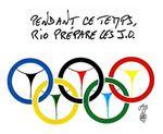 Le monde et les Jeux Olympiques