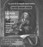 La voix du violon - Davide Monti