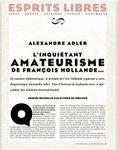 L'inquiétant amateurisme de François Hollande par Alexandre Adler