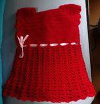 Une robe chasuble pour Alice...
