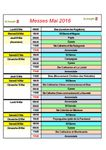 Horaires messes mai 2016