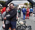 6 ore di San Gregorio ...da Vivere 2015 (1^ ed.). Mela e Salvo e la loro corsa a staffetta