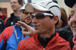Nove Colli Running 2015 (18^ ed.). I vincitori sono stati Marco Bonfiglio e la statunitense Brenda Carawan