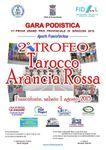 Trofeo Podistico Tarocco Arancia Rossa 2015 (2^ ed.). In scena sabato 1° agosto 2015, a Francofonte (SR)