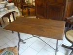 Table de bistrot ancienne à vendre
