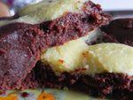 Brownie aux 2 chocolats