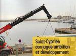 Saint-Cyprien à + 7% .