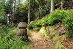 Les roches de la Xaveure et le lac de Pierre Percée