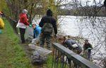 Quand l'association OSE nettoie la Seine à Athis-Mons