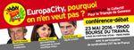 Aujourd'hui à 19 heures réunion publique sur Europacity à Paris