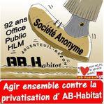Face aux dangers de privatisation d'AB-Habitat : le Comité d'Entreprise déclenche le droit d'alerte