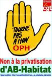 Signez la pétition contre la privatisation d'AB-Habitat
