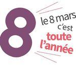 8 Mars : Journée internationale des droits des femmes  #8mars