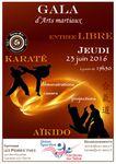 [Annonce] Gala des arts martiaux de l'US Carrières sur Seine - 23 juin 2016