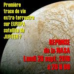 Un grand rendez-vous scientifique avec la NASA lundi 26 septembre 2016 à 20H00