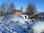 Saint Quirin - La circulaire de la Haute Chapelle en hiver